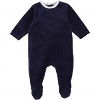 TIMBERLAND אוברול(6-1 חודשים) - קטיפה כחול כהה