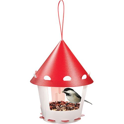 תחנת האכלת ציפורים עגולה להרכבה עצמית