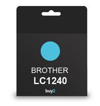 על איכות לא מתפשרים! ראש דיו תואם BROTHER LC1240 צבע כחול, דיו איכותי למדפסת