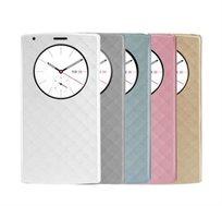 כיסוי דו צדדי Smart Cover עבור LG G4 עם תצוגה נוחה ובמגוון צבעים לבחירה