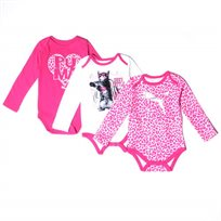 Puma / פומה 3 בגדי גוף - מעבר (9-0 חודשים)