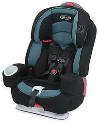 כסא בטיחות ובוסטר נאוטילוס Nautilus 80 מבית GRACO בכחול/שחור