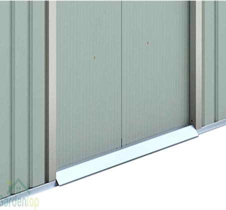 מחסן גינה ממתכת פרמיום דגם T74 במידות 2.13X1.27 עם דלתות הזזה Garden Top  - תמונה 3