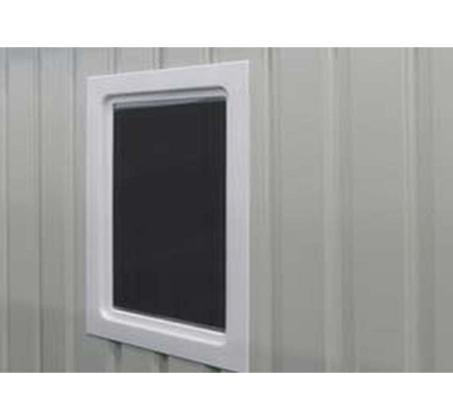 מחסן גינה ממתכת פרמיום דגם T74 במידות 2.13X1.27 עם דלתות הזזה Garden Top  - תמונה 2