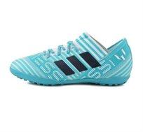 נעלי קט רגל Messi Tango TF לנוער - לבן/תכלת