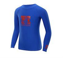 חולצת לייקרה Basic שרוול ארוך לגברים במגוון מידות BODY GLOVE - משלוח חינם