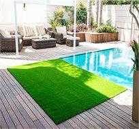 דשא סינטטי בצפיפות סיבים גבוהה כתחליף לצמחיה או לדשא אמיתי במידות שונות