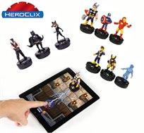 Hero Clix-חוויית משחק לילדים עם גיבורי העל האהובים באמצעות טאבלט ואפליקציה להורדה בחינם
