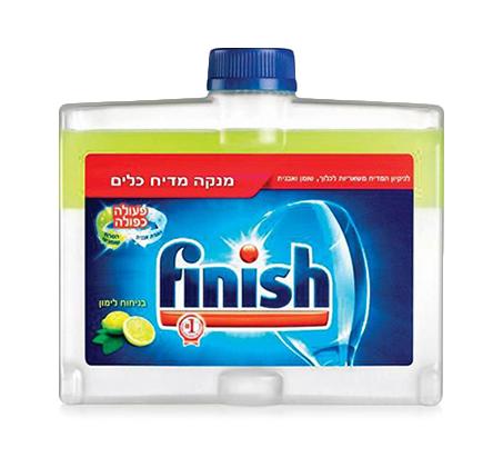 ערכת Finish למדיח הכוללת 5 חומרי ניקוי למדיח בניחוח לימון - תמונה 3