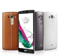 סמארטפון LG G4 H815L גב עור עם זיכרון 32GB + 3GB RAM ואחריות יבואן רשמי לשנתיים