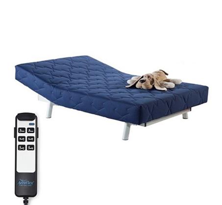 מיטת נוער מתכווננת בעלת 2 מנועים דגם Happy עם מזרן Visco אורטופדי  Aeroflex - תמונה 2