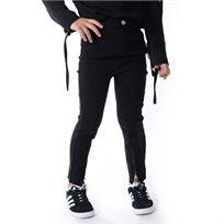 ORO אורו (7-2 שנים) מכנס רוכסן - שחור