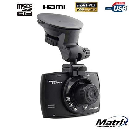 מצלמת דרך באיכות HD 1080P, זוית צילום של 140 מעלות, G-Sensor ויציאת HDMI