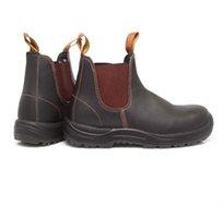 נוחות מירבית! מגפיים לנשים ולגברים בצבע חום כהה עם סוליית TPU דגם Blundstone 192 - משלוח חינם