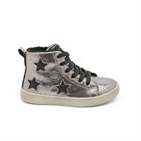 Keds - נעלי סניקרס כסופות עם כוכבים לילדים