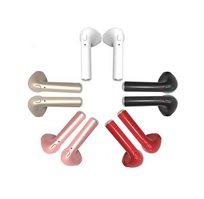 אוזניות בלוטות' זעירות סטריאו TWS אלחוטיות נטענות עם מיקרופון מובנה וערכת הטענה מהירה
