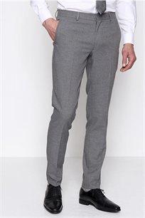 מכנסיים אלגנטיות לגבר DEVRED בצבע אפור