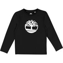TIMBERLAND חולצה (16-3שנים) - שחור לוגו