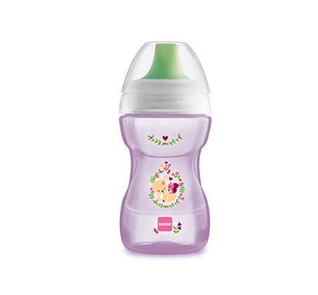 מארז 3 כוסות לתינוקות MAM עם פקק נגד נזילות 270 מ