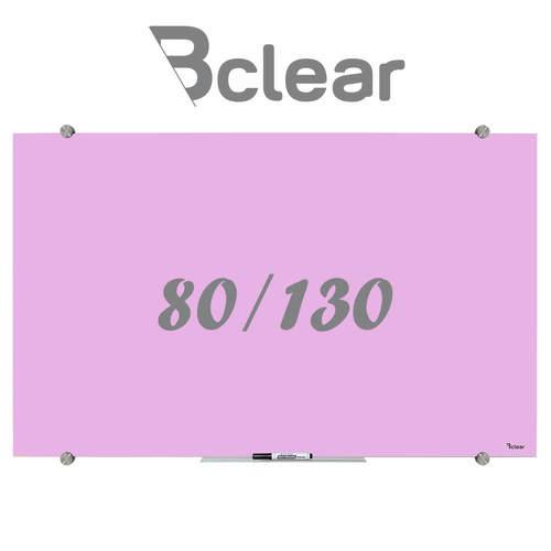 לוח מחיק זכוכית מגנטי צבע סגול פסטל מסדרת Bclear Color