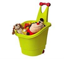 עגלת טרולי לצעצועי ילדים למשחק ואחסון PAL PLAY