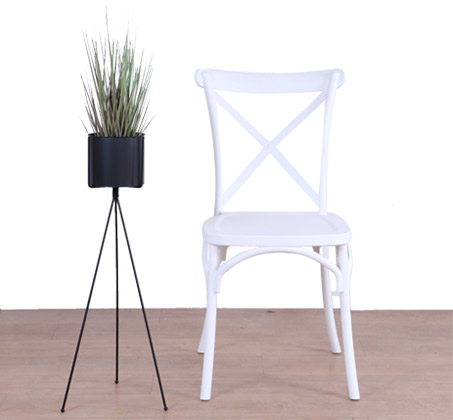 כסא לפינת האוכל בעיצוב מודרני עשוי פלסטיק במגוון צבעים לבחירה  - תמונה 5