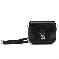 Guess// Clem Mini Crossbody Flap Black