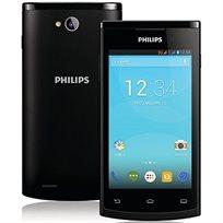 """סמארטפון S308 גודל מסך 4"""" מעבד 1.0GHz בעיצוב דק וארגונומי מצלמת 5MP ו-2 כניסות SIM מבית PHILIPS - משלוח חינם!"""