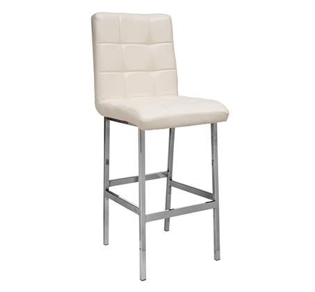 סופר כיסא בר מעוצב מרופד דמוי עור לשימוש במטבח במגוון צבעים לבחירה GB-01