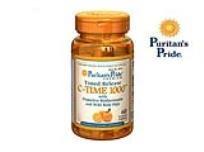 ויטמין C שישה בקבוקים בכמות 60 קפסולות בבקבוק, 1000 מיליגרם בקפסולה