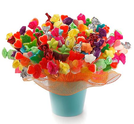"""זר ממתקים """"חגיגה מתוקה"""""""