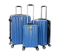 סט 3 מזוודות קשיחות בגדלים שונים סוויס מילאנו