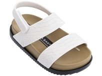 Melissa ילדים // Cosmic Sandal Baja East White/Black
