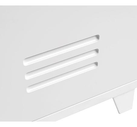 מזנון לטלוויזיה בעיצוב מודרני עם ידיות מתכת דגם FACTORY - משלוח חינם - תמונה 5