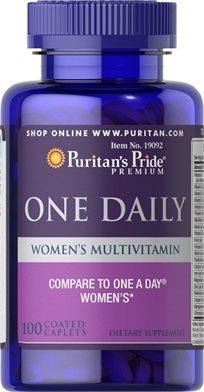 Puritan's Women's One Daily Multivitamins