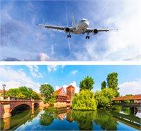 טיסה הלוך חזור לנירנברג רק בכ-$286*
