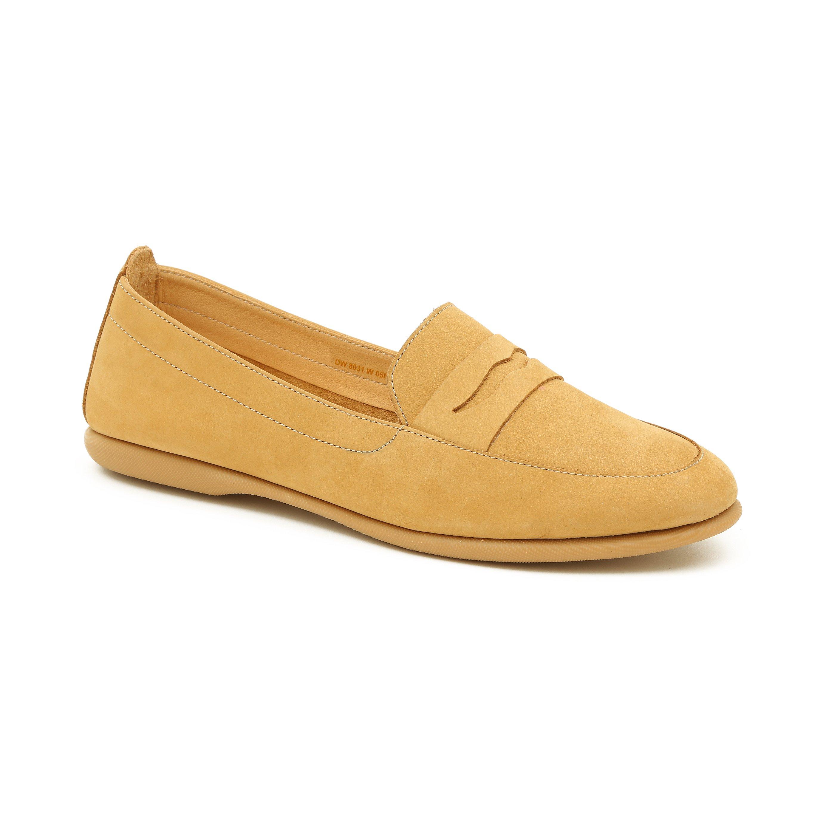 Darkwood - נעלי מוקסין קלאסיות 8031 מעור בצבע קינמון