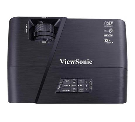מקרן קולנוע עם ניגודיות גבוהה וחיבור HDMI דגם ViewSonic PJD5155 - משלוח חינם - תמונה 4