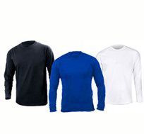 סט 3 חולצות דריי פיט ארוכות