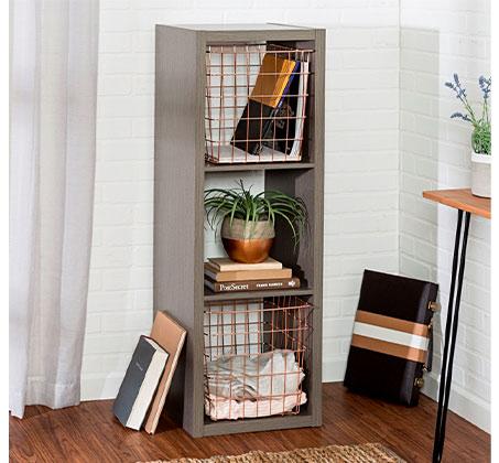 כוורת 3 תאים מודרנית מעץ לאחסון