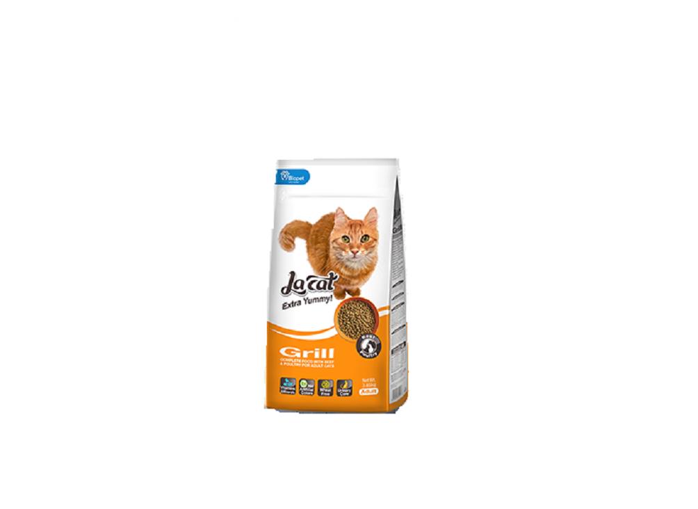 מזון לחתולים בוגרים להקט גריל 7.2+1.5 ק''ג La Cat