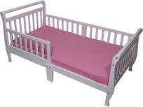 מיטת מעבר מעוצבת ומחוזקת עם 3 מעקות - אביב