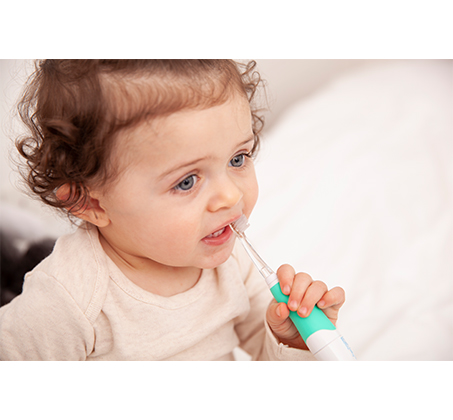 וידה מברשת השיניים החשמלית הראשונה שלי לגילאי 0-36 חודשים דגם BabySonic מסדרת Brush Baby - תמונה 2
