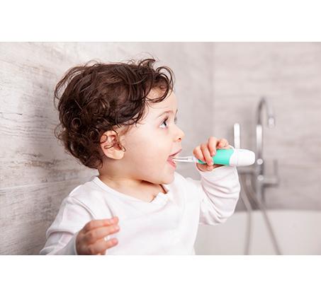 וידה מברשת השיניים החשמלית הראשונה שלי לגילאי 0-36 חודשים דגם BabySonic מסדרת Brush Baby - תמונה 3