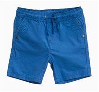 מכנסי ברמודה קצרים לתינוקות וילדים בצבע כחול