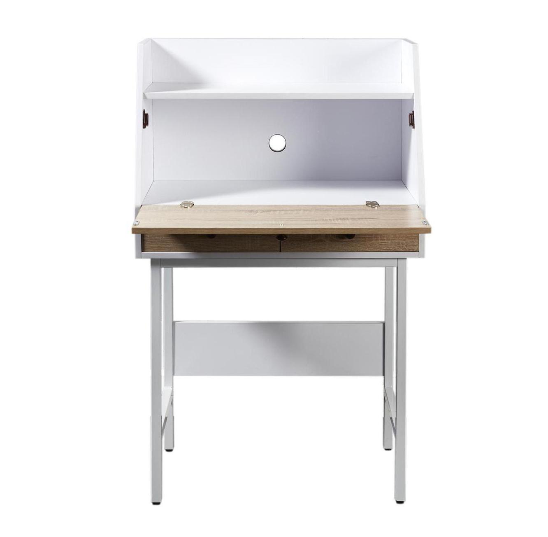שולחן עבודה דגם London עשוי עץ בשילוב מתכת מבית Ze Sweet Home  - משלוח חינם - תמונה 2