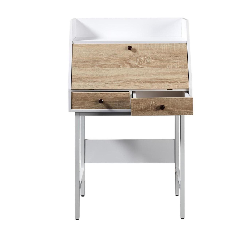 שולחן עבודה דגם London עשוי עץ בשילוב מתכת מבית Ze Sweet Home  - משלוח חינם - תמונה 3