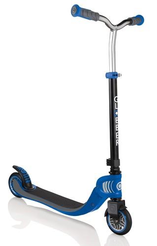 קורקינט מתקפל לילדים פלואו Flow Foldable 125 - שחור/כחול