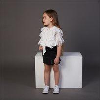 חצאית Oro לילדות (מידות 2-8 שנים) שחור