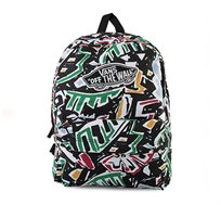 תיק גב VANS REALM BACKPACK VNZ0J5K - צבעוני
